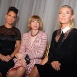 Anna Wintour à la fashion week de NYC avec ses amis sportifs!