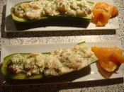 Pirogue concombre saumon l'aneth
