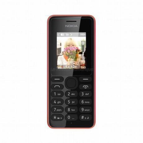Nokia 108, le téléphone portable double SIM avec appareil photo à moins de 40 €