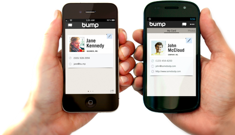 Google rachète l'application [Bump]