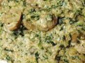 Quinoa Ricotta, Epinards Champignons