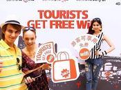 WIFI gratuit pour touristes dans certains magasins Central