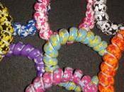 Arrivage bracelets chouchous spirales téléphone