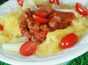 Courge spaghettis bolognaise {Recette paléo}