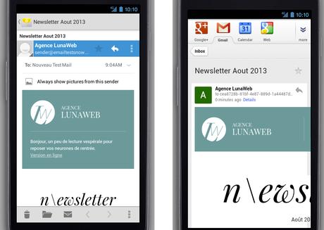 Responsive web design vos emailing - talandria