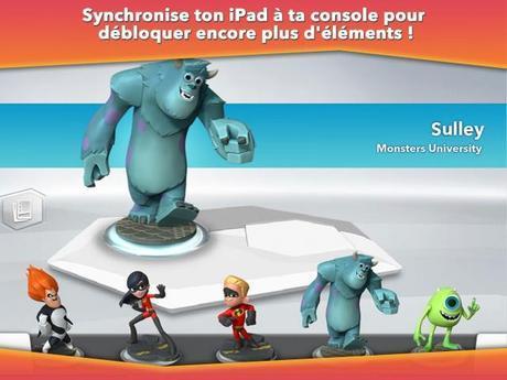 L'application Disney Infinity : Toy Box déjà en tête du classement des applications gratuites sur Ipad