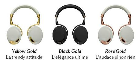 IFA 2013 : Le casque Parrot Zik décliné en « Gold Collection »