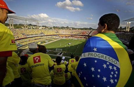 Un stade du Mondial 2014 transformé en prison