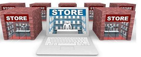 Les magasins, en ligne ou dans la rue?