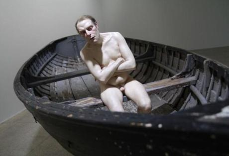 man in a boat ron mueck