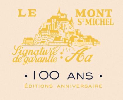 Le Mont St Michel - 100 ans