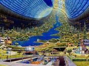 NASA imaginé l'avenir l'humanité dans l'espace