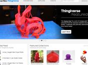 Thingiverse: trouvez patrons pour votre imprimante