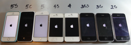 iphone 5S 5C 5 4S 4 3GS 3G 2G