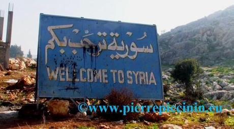Wellcome to Syria - Copyright Pierre Piccinin da Prata - Co
