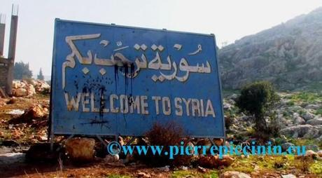 Wellcome to Syria - Copyright Pierre Piccinin da Prata - Co