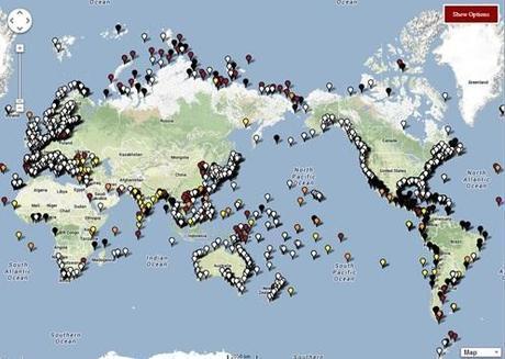 Les océans montent dangereusement, sauf autour des îles