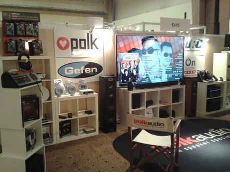 2013 09 27 16.56.07 Hifi Home Cinema : succès pour les enceintes POLK et les systèmes de contrôle URC !