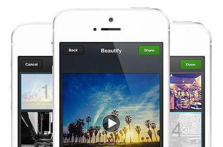 Viddy sur iphone, 30 secondes de vidéo à partager...