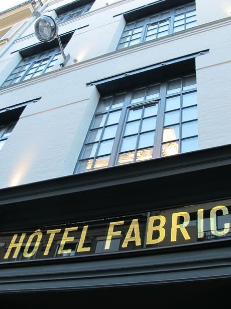 Visite déco : l'hôtel Fabric