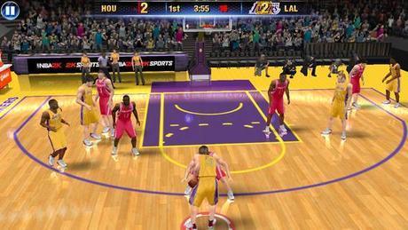 NBA 2K14 disponible sur l'App Store