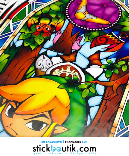 Stickers Muraux géants The Legend of Zelda: The Wind Waker