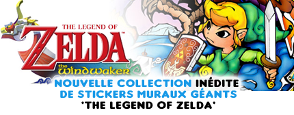 Stickers Muraux exclusifs The Legend of Zelda chez Stickboutik.com