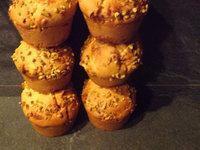 Muffins aux Niniches de Quiberon, miel, pain des Flandres