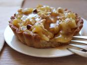 Tartelettes pommes, caramel beurre salé noisettes