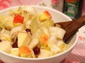 Salade d'endives l'huile noisette