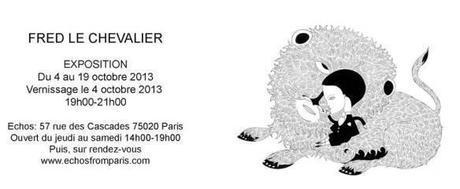 Exposition : Fred Le Chevalier à Paris