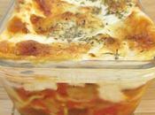 Lasagnes aubergines mozzarella