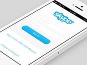 Skype iPhone, aussi l'iOS 7...