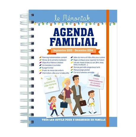 agenda familial - illustration Nesk
