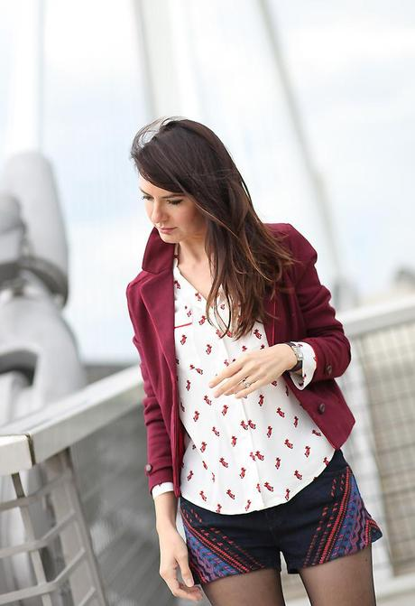 tendance blazer bordeaux September 13