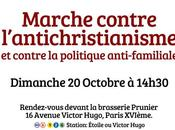 Grande marche contre l'anti-christianisme octobre