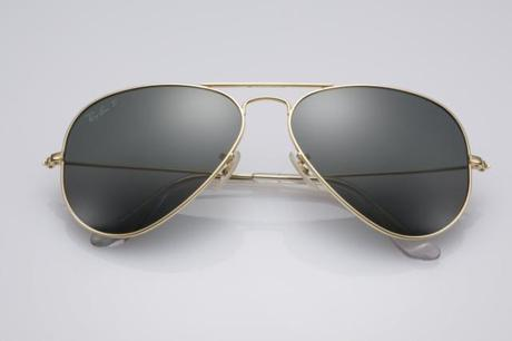 Luxe : Les Ray-Ban Aviator Solid Gold