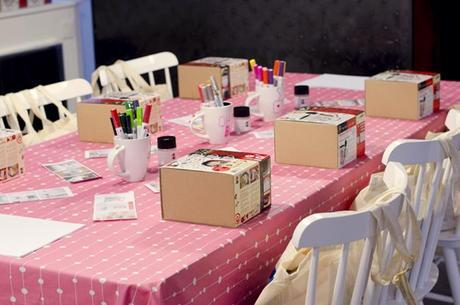 Craft & Beauty Party Oh My Blog ♥