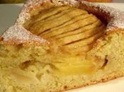 Gâteau léger pommes poires.