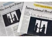 "L'""International Herald Tribune"" rebaptisé ""International York Times"""