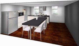 notre choix cuisine avec ilot paperblog. Black Bedroom Furniture Sets. Home Design Ideas