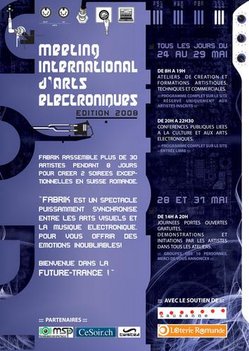 Meeting International d'Arts Electroniques FABRIK