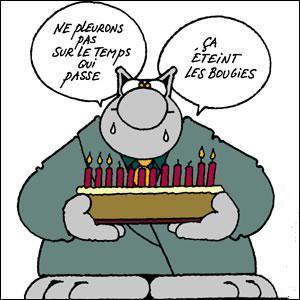 Joyeux Anniversaire Philippe Geluck à Voir