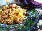 Risotto «carnaroli» citrouille champignons sauvages