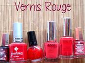 Défi lundi Vernis ongles rouge...pas dada