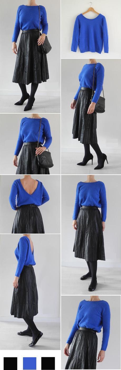 Comment porter une jupe mi longue en cuir Paperblog