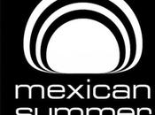 label Mexican Summer fête ans.