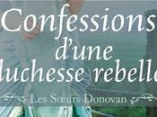 soeurs Donovan, tome Confession d'une duchesse rebelle Jennifer Haymore
