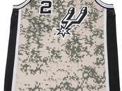 Voici nouveau maillot Spurs Antonio