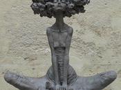 """""""petites bonnes femmes"""" Valérie HADIDA, sculpteure peintre"""